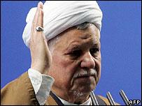 Iran's former president, Akbar Hashemi Rafsanjani