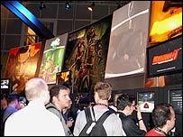 EA stand in E3