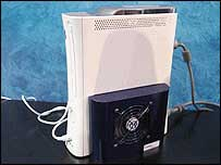 Xbox cooling unit, BBC