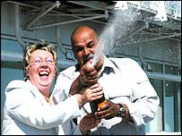Sandra Fosbrooke and Ken Henry
