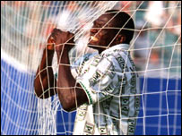 Former Nigeria international Rashidi Yekini