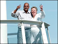 Ken Henry and Sandra Fosbrooke