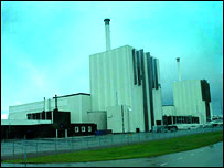 Forsmark nuclear power plant (BBC)