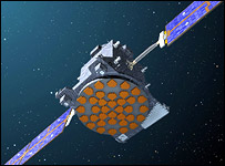 Artist's impression of SSTL's Galileo test satellite (SSTL)