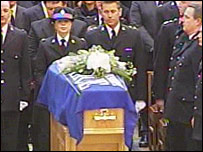 Pc Sharon Beshenivsky's coffin