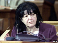 Mirjana Markovic (file photo dating from 2001)