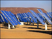 Solar panels (EyeWire)
