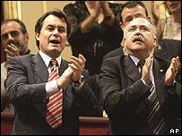 Dirigentes catalanes