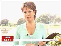 Natasha Kaplinsky presented Breakfast from Kenya last summer