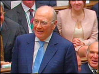 Sir Menzies Campbell in the House of Commons