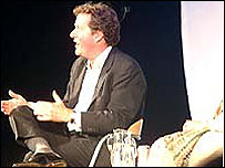 Piers Morgan at Hay