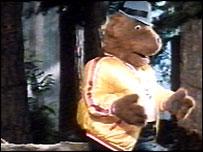 George the Hofmeister bear. DDB