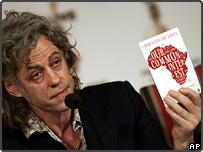 Bob Geldof announcing the Live 8 details