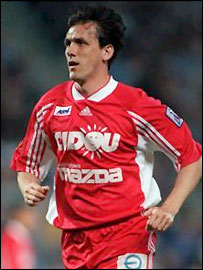 Tony Cascarino in his playing days with Nancy-Lorraine