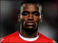 Striker Darren Bent
