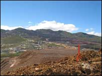 Yanachocha gold mine, Peru