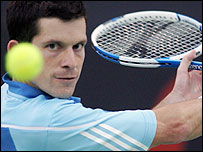 Tim Henman is currently 36 in the world rankings