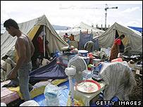 Tents in Banda Aceh December 2005