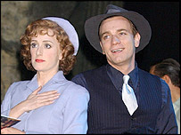 Jenna Russell and Ewan McGregor in Guys and Dolls