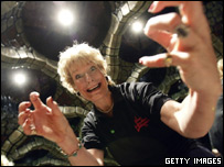 Christine Hamilton at the London Dungeon back in March