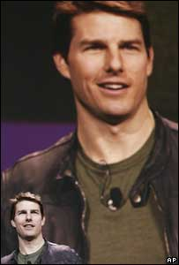 Tom Cruise at CES, AP