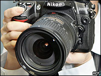 Nikon's D200 digital single-lens-reflex camera