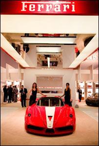 Ferrari on show