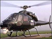 BBC News helicopter