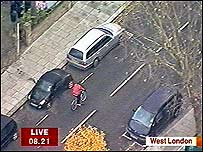 Helicopter shot of Cameron