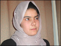 Nadia Anjuman, an Afghan poetess murdered in November 2005