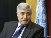 Former UN official Joseph Stephanides (file photo)
