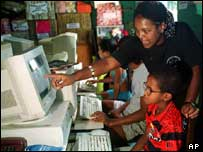 computer users in Brazil