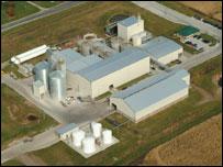 Bioethanol plant in America