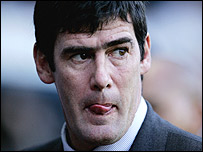 Luton boss Mike Newell