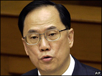 Hong Kong leader Donald Tsang