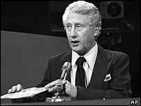 Mark Felt appears on CBS' Face The Nation in 1976