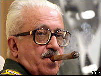 Tariq Aziz, Iraq's former deputy prime minister