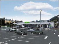 Image of proposed Asda store (pic: Asda)