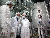 Isfahan uranium conversion facility in Iran