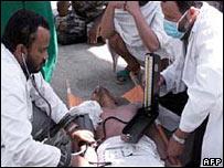 Hajj stampede victim, 2003
