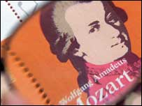 Imagen de Mozart.