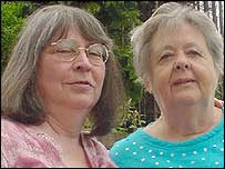 Shirley Wetzel and Gwen Scoggins