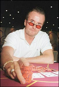 Poker player Dave Ulliot, aka Devilfish