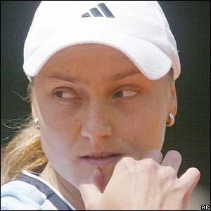 Russia's Nadia Petrova