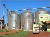 Soybean processing plant Paraguay