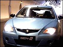 Proton Gen-2 car