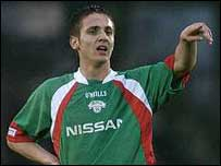 Republic of Ireland Under-21 forward Kevin Doyle