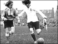 Dick, Kerr's Ladies (in white) v France dated 1925