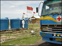 Water delivery to Lampuuk