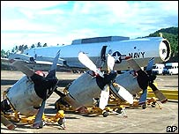 A Lockheed EP-3 spyplane